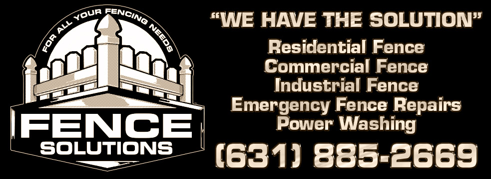 Fence Solutions of Commack NY